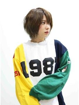 ロココ(hair design rococo)[rococo]バレイヤージュ!無造作レイヤーボブ☆