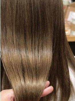 スタジオ 渋谷 原宿(Stujio)の写真/ダメージによるうねりを髪質改善[ミネコラ/ストリートメント/Aujua]で理想の質感が手に入る♪[渋谷/原宿]