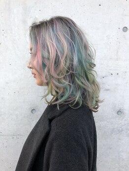 ヘア スペース メロウ(hair_mellow)の写真/ハイセンスなカラーがしたい時はココできまり!ホイルワークを活かしたオシャレなデザインカラーが人気◎