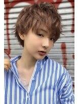 小顔ショート【たまプラーザ髪質改善オージュアイルミナカラー】