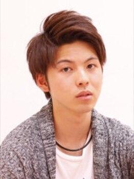 """オブハーツ 仙川店(OF HEARTS)の写真/カットで差がつく""""好印象スタイル""""メンズからの支持も高い似合わせカットで毎朝のスタイリングが楽になる!"""