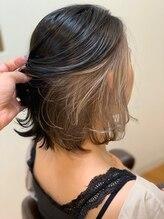 フーヘアーリビング(Fuu Hair Living)インナーカラー