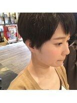 エイトヘアー(eight. hair)メンズライク*刈り上げショート