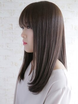 シュガー(Sugar)の写真/悩み/髪質/なりたいStyleに合わせて薬剤を厳選◎真っ直ぐ過ぎない潤い満ちた自然なストレート美髪に◇