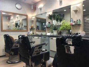 理容アヅマの写真/アットホームな空間でリラックス◎雰囲気とお客様の居心地を大切にしています!理容アヅマで癒しの時間を
