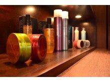 ルコル テイラーオブヘアー(LUCOLU Tailors of hair)の雰囲気(厳選のヘアケア剤も豊富にご用意あり♪【 LUCOLU 所沢】)