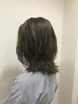 ヘアー ミッション 心斎橋店(hair Mission)赤味オフ☆艶マットベージュ
