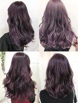 パープル紫バイオレットジェンダーレスフェアリーエレガンス
