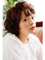 リーズ(Lise)【ゆるふわショートボブ】/【イルミナカラー】【エアウェーブ】