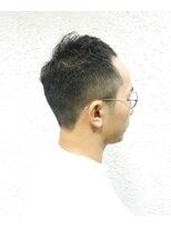 ヘアーメイクサロンアカイシ(hairmake salon AKAISHI)フェード&ボリュームトップ