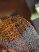 天然ヘナで髪を傷めず白髪染め♪