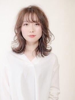 """アローズ アヴェダ 札幌パルコ店(HELLO'S AVEDA)の写真/髪の""""美と健康""""のために開発された『フルスペクトル ディープ ヘアカラー』艶感・発色ともに仕上がり◎"""