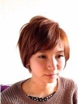 ヘアーカーブ(haircarve)秋★haircarve★エアリーラフ・ショート