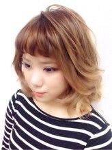 ヘアー クリエイション アミー あびこ店(Hair Creation ami)★外人風3Dグラデカラー★