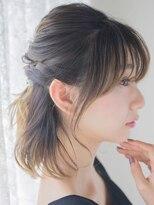 オジコ(ojiko)☆月曜日も営業☆【ojiko.】オトナ女性のハーフアップ