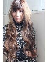 ジル ヘアデザイン ナンバ(JILL Hair Design NAMBA)スーパーロングゆるウェーブ
