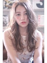 【 LOVELEY 】小顔ゆるウェーブ×ミルクティーベージュ