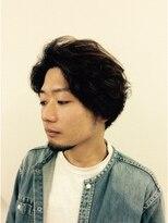 フリリ 新宿(Hulili men's hair salon)マッシュスタイルゆるパーマ