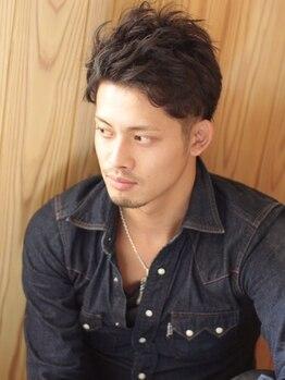 ララテラス(LaLa Terrace)の写真/【男性限定カット(眉カット込)¥4320】毎日のスタイリングも簡単に☆オンもオフも思い通りにキマる!