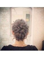 ルゥーダ ヘアアンドビューティー(Rouxda' hair&beauty)ゆるふわアップスタイル