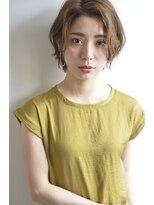 ボヌール 西梅田店(Bonheur)【女性stylist杉崎】色っぽオトナショート