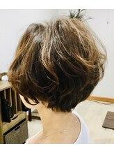 ラズ(Laz hair)ユルショートボブ