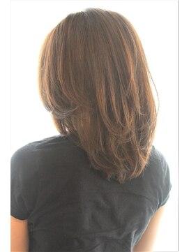 50代以上 ロングアレンジのヘアスタイルギャラリー Rasysa らしさ