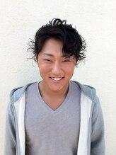 ヘアーサロン シュガー(Hair Salon SUGAR)クセ毛を活かした無造作アップバンクショート