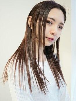 ソヨ ヘアー ミュージアム(Soyo Hair museum)の写真/ダメージレスでストレートヘアに☆クセ毛やパサつきでお悩みの方も毛先までまとまりお手入れしやすい髪に♪