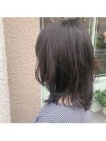 アルマヘアー(Alma hair by murasaki)マンネリ打破ミディアムスタイル
