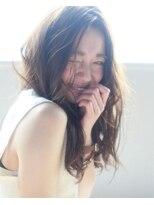 【kate】大宮 ほつれカール×透けアッシュベージュ