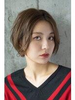 ノラジャーニー(NORA Journey)【NORA Journey】長め前髪の色っぽショート☆