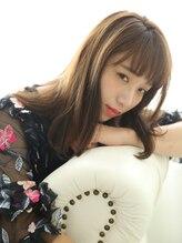 ショコラナンバ(Chocolat NAMBA)ワイドバンク★とろみ艶髪★ミディアムロング