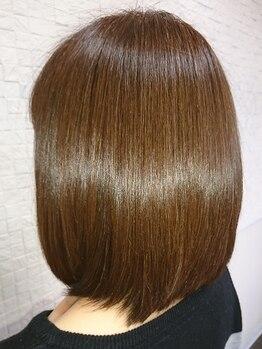 ヘルシーヘアーアゲイン(healthy hair AGAIN)の写真/【ミネコラストレート】通常の縮毛矯正だけでなく、トリートメントストレートにするメニューも豊富☆