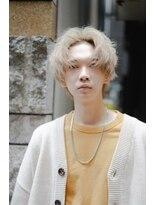 リップスヘアー 銀座(LIPPS hair)韓流グク風センターパート