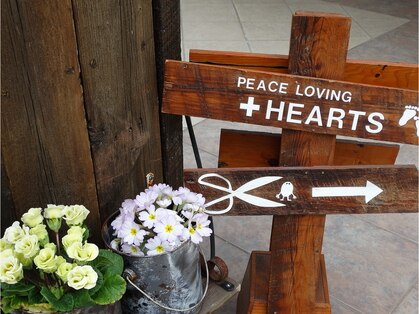 ピースラビングプラスハーツ(PEACE LOVING+HEARTS)の写真