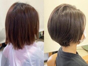 アオイ(AOI)の写真/一人一人異なる髪や頭皮の状態に合わせた施術を提案◇悩みも活かしてオンリーワンのスタイルを創り上げる☆