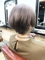 エトネ ヘアーサロン 仙台駅前(eTONe hair salon)ミセスショートボブ