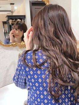 ヘアーコンテマシェリ(Hair conte Mcherie)の写真/【カラーが得意なStylist在籍★】あなただけの似合わせカラーを≪Mcherie≫に探しに来ませんか♪