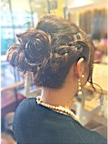 サヴォイ 本厚木店(SAVOY)飾りナシでかわいい♪ふわふわヘアアップ♪