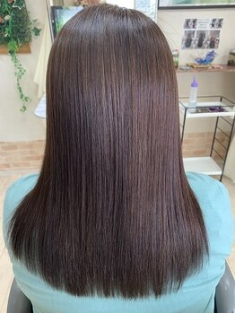 ヘアーワールド ゼロ(Hair world Ze:Ro)の写真/髪質改善に特化した本格派サロンです!カラーやパーマによるダメージが気になる方にオススメ◎