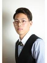 ヘアー デザイン ソレイユ 東久留米店(Hair Design SOLEIL)サイドパートで魅せる!大人なクラシックスタイル