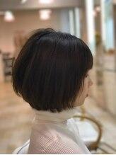 ヘアメイクルーボ(HAIR MAKE Lu bo)女子力アップ!丸みのあるキューティーエアリーボブ
