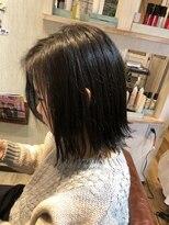 アイビーヘアー(IVY Hair)外ハネボブスタイル