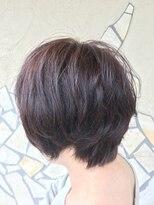 フェリーク ヘアサロン(Feerique hair salon)くせ毛を活かしたショートボブスタイル