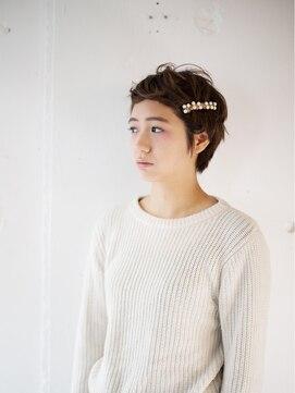 リッカ(RICCA)【RICCA】ナチュラル☆ショートアレンジ パールバレッタ編