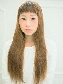 """パドマ(PADOMA)の写真/顔周り、前髪のクセが気になる方に朗報!しっかりクセを伸ばし常にキレイでなめらかな""""美髪""""が維持できる☆"""