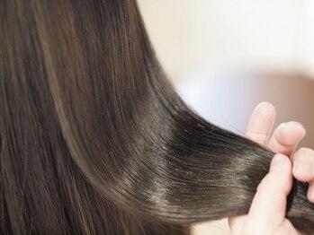 マド ヘア(mado hair)の写真/【安佐南区/中筋★駐車場あり◎】ダメージケアに特化したサロン[mado hair]毛先まで弾力のあるツヤ髪に♪