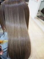 艶髪♪透明感カラー♪アプリエ☆プラチナアッシュ♪