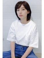 ヘア デザイン エシレ(Hair design esille.)ミディボブ